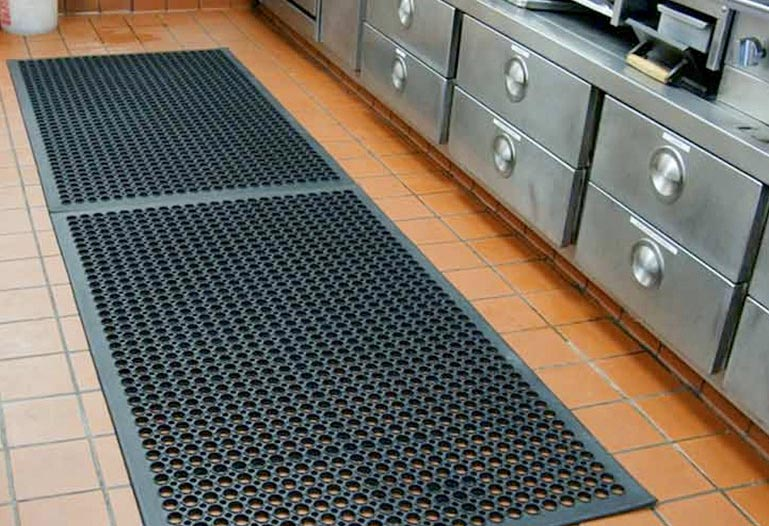 Rubber Mat Connector, Restaurant & Car Mats